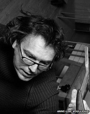 Jean-Michel Capt uses resonance wood to make guitars