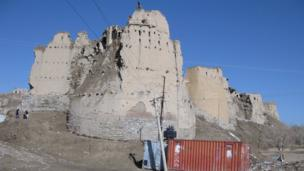 Fortress at Ghazni