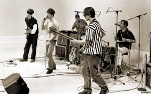 The Stone Roses performing by Ian Tilton