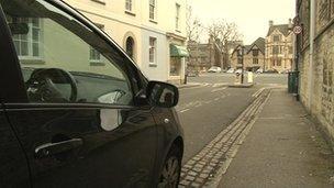Oxford on-street parking