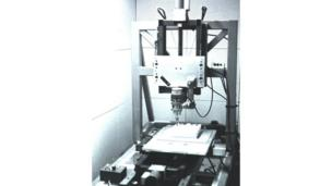 Foam cutting machine, copyright University of Cambridge