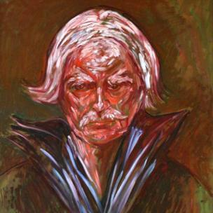 Llun o'r artist Syr Kyffin Williams