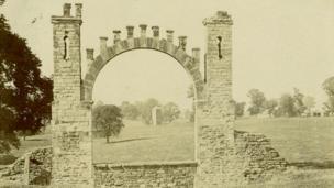 Old Entrance to Northampton