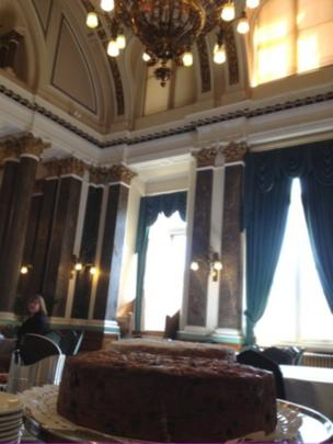 Cake in the Banqueting Suite of the Council House