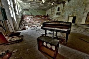 Pripyat's concert hall