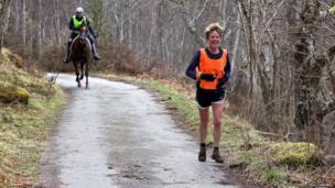 Man v Horse competition