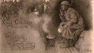 Christmas card from Douglas Elphick