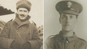 Lt Pritchard and Pte Elphick