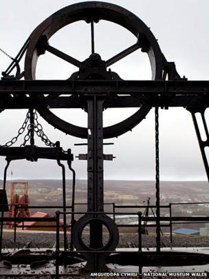 Machinery at Big Pit