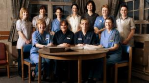 Llangollen Hospital staff