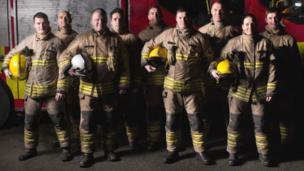 Llangollen firefighters