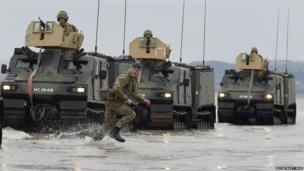 Royal Marines on Exercise Joint Warrior