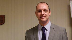 Hartlepool mayor Stuart Drummond