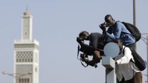 Photographers in Dakar, Senegal - Tuesday 23 April 2013