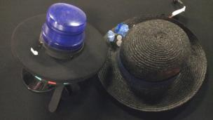 Hats used in the London 2012 opening ceremony
