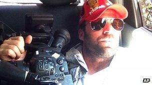 US film maker Timothy Tracy