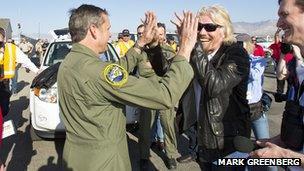 Richard Branson & Mark Stucky