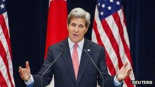 File photo: John Kerry