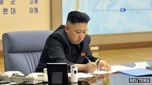 File photo: Kim Jong-un