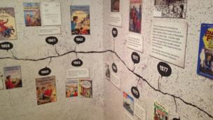Enid Blyton exhibition at Seven Stories