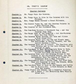 Mr Tumpy's Caravan typescript