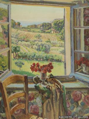 Window, South of France by Duncan Grant (detail)