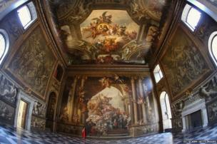 The Old Royal Naval College's Painted Hall in Greenwich
