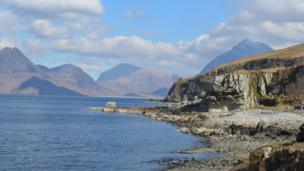 Elgol on the Isle of Skye