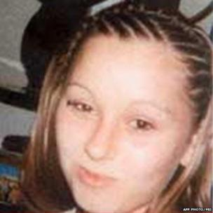 Amanda Berry, pictured shortly before she went missing on April 21, 2003.