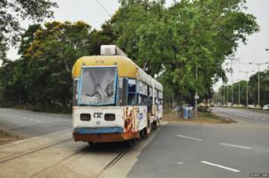 Calcutta trams