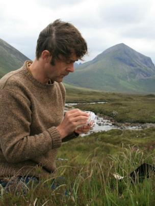 Poet Alec Finlay