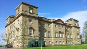 Hagley Hall, Worcestershire