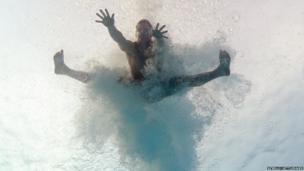 David Boudia of the USA dives