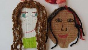 Children's collage