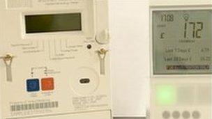 Smart meter and display