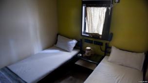 Inside a hotel