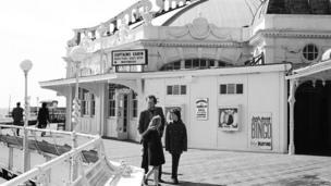West Pier in the 1970s