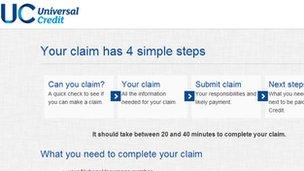 universal credit warning over online benefit claims bbc news