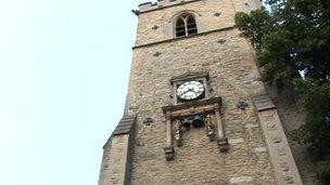 Oxford S Carfax Tower Fall Victim Dies In Hospital Bbc News