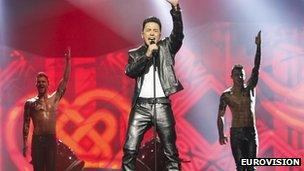 Irish Eurovision entry Ryan Dolan