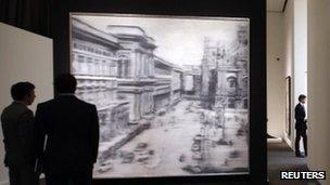 Domplatz, Mailand by Gerhard Richter