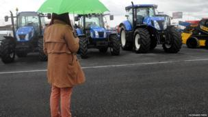 The latest in farming machinery is also on show from a wide range of manufacturers.