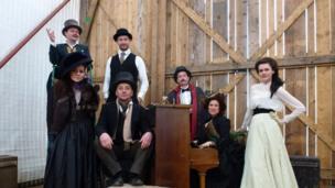 Barn actors