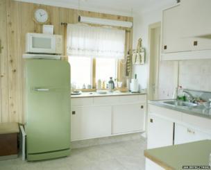 Kitchen at Selma and August's house on Steinstun farm