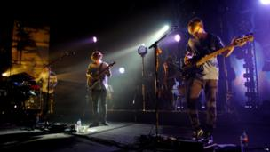 Alt-J perform at the Brixton Academy in London