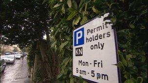 Residents' parking in Bristol