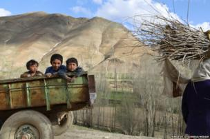 Children in Bamyan Province