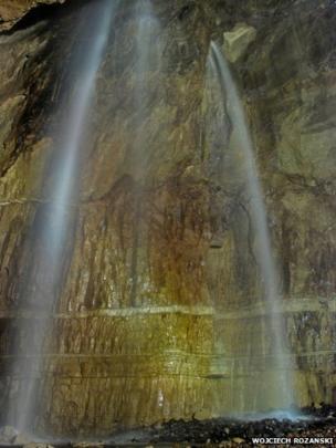 Waterfall at Gaping Gill
