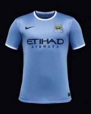 a6d65388b Manchester City in multi-million pound Nike kit deal - BBC News