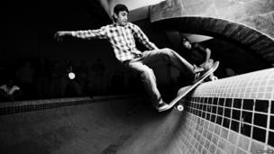 Noor Ibrahim skating